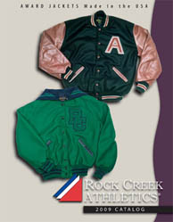 Rock Creek letter jackets
