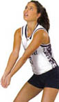 We offer a variety of volleyball uniforms