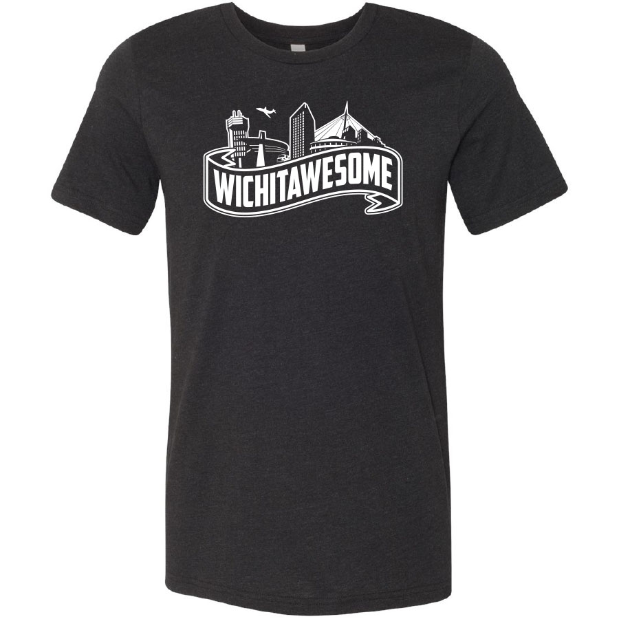 Wichitawesome t-shirt black