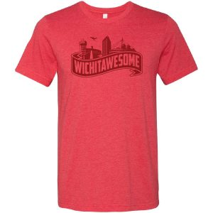 Wichitawesome t-shirt red