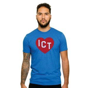 ICT Heart Blue