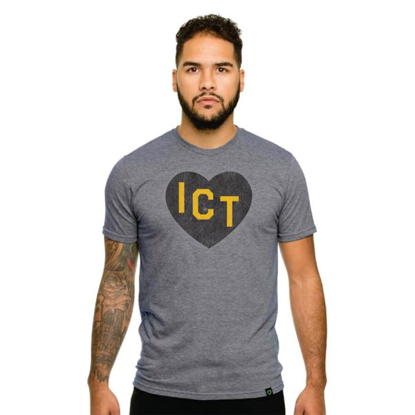 ICT Heart Grey