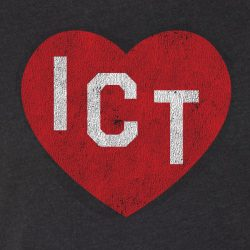 ICT Heart t-shirt