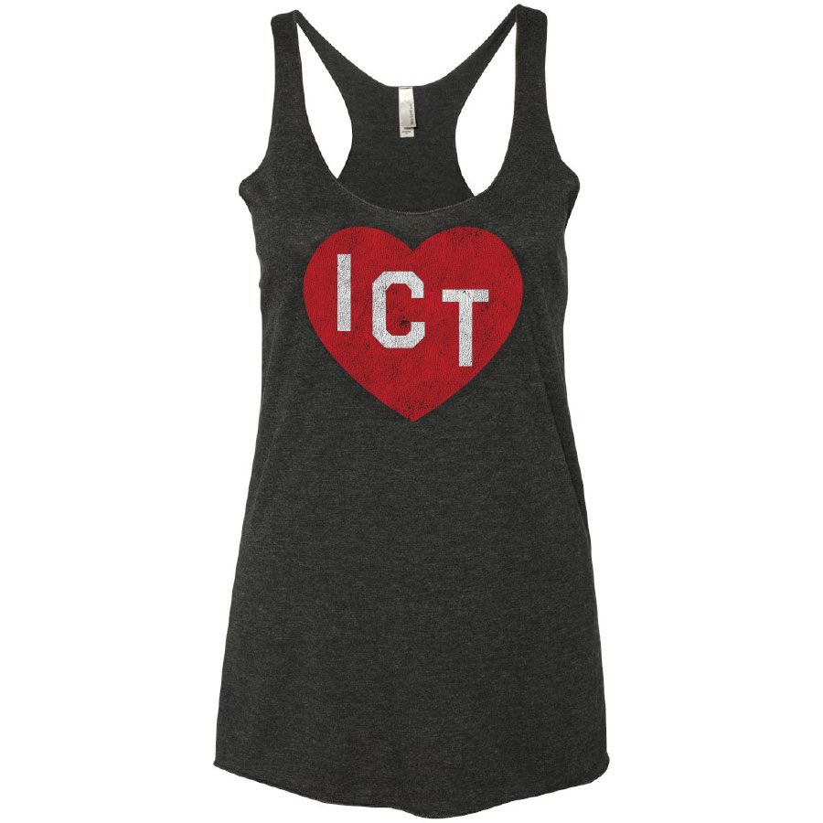 ICT Heart yoga tank
