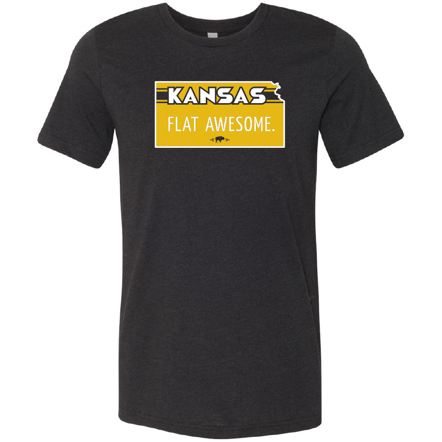 Kansas Flat Awesome t-shirt
