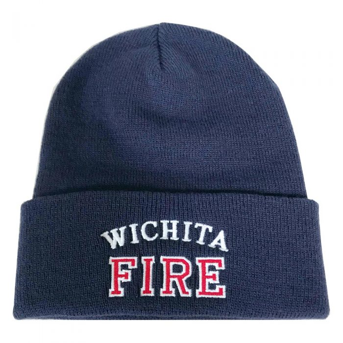 Embroidered stocking cap