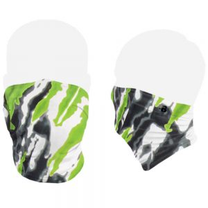 Lime Tie Dye face mask