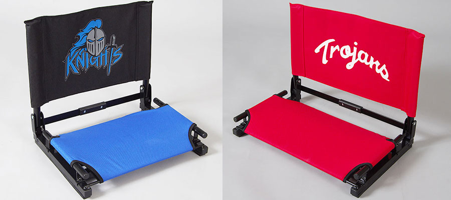 custom printed stadium chairs