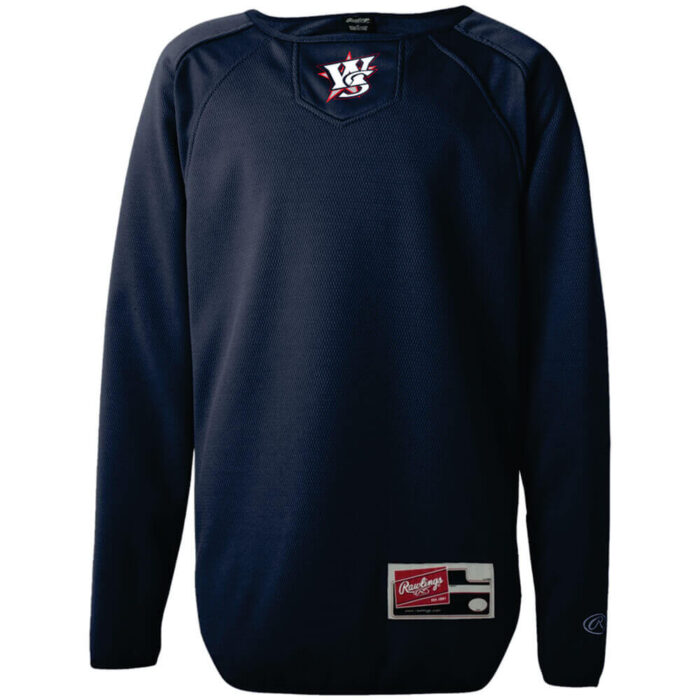 custom embroidered pullovers